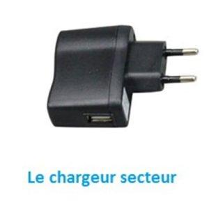 Chargeur secteur